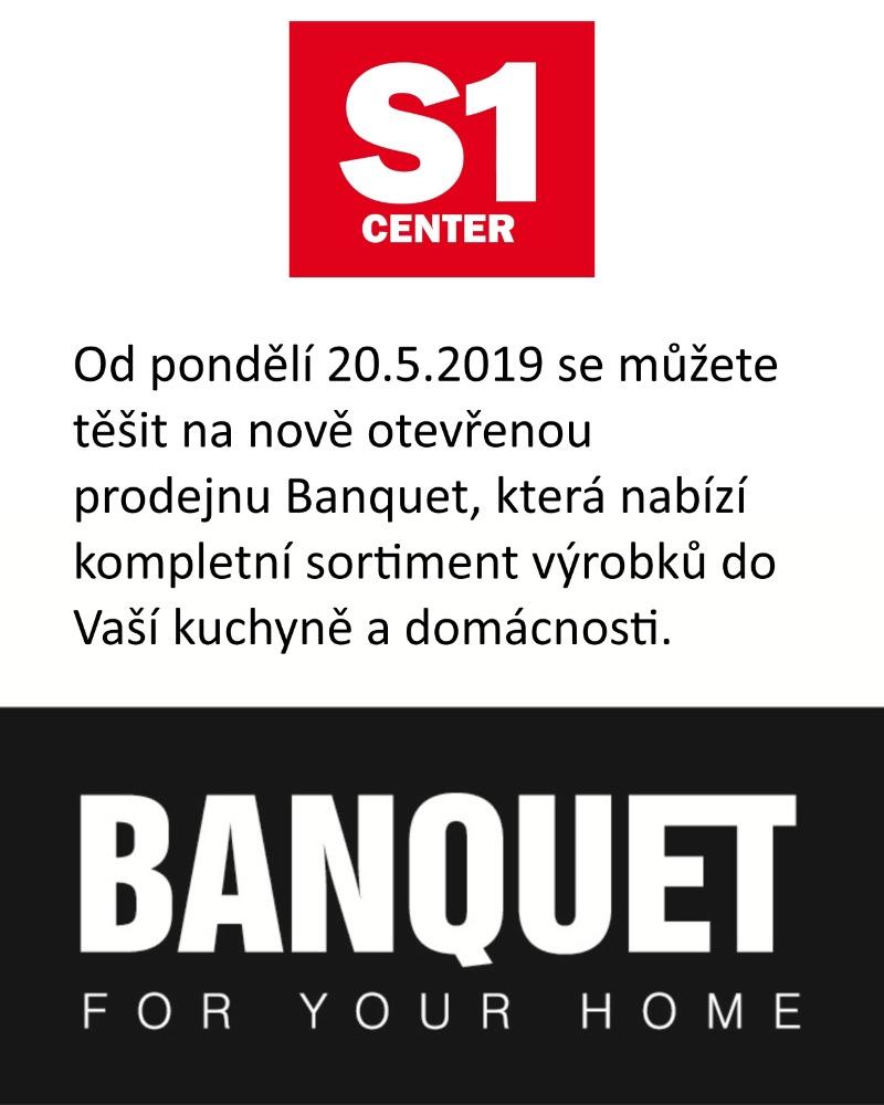 20.5.2019 nově otevřená prodejna Banquet
